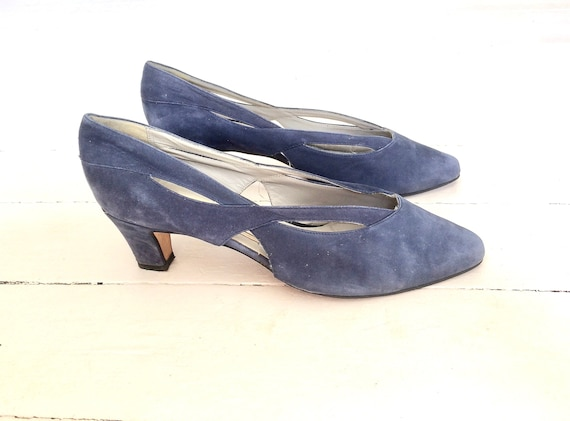 80s Suede Pumps