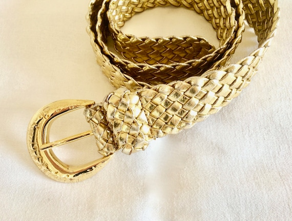 70s Gold Belt