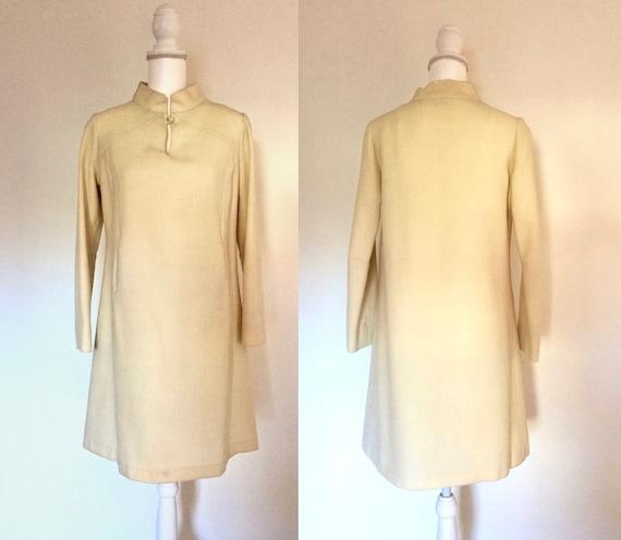 60s Winter Wool Dress