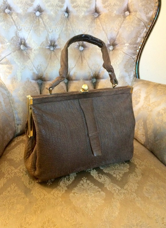 40s Leather Handbag