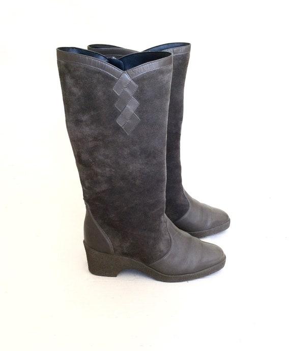 60s Winter Boots