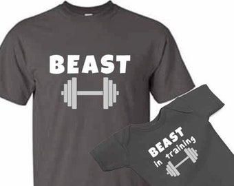 Cute Fathers Day Shirt Baby Workout Daddy/'s Lifting Buddy Baby Clothes Daughter Fathers Day Shirt Son Fathers Day Shirt Workout Dads