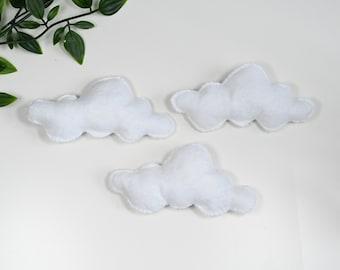 Felt Cloud Mobile DIY