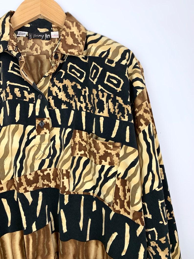 Animal Print Pullover