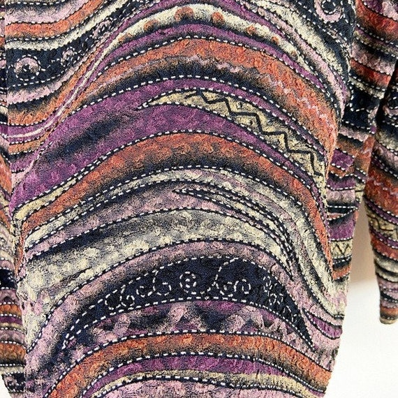 Laura Ashley Vintage 90's Abstract Textured Blouse - image 6