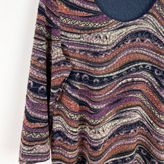 Laura Ashley Vintage 90's Abstract Textured Blouse - image 5