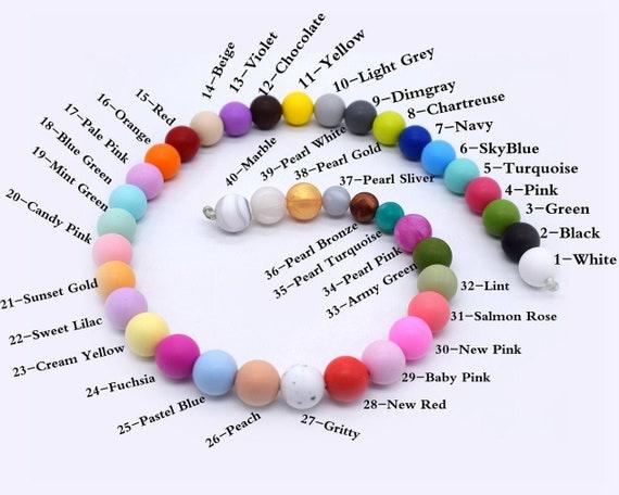 Koala Food Grade Silicone Teether Beads Baby Teething Sensory Shower Gift Making