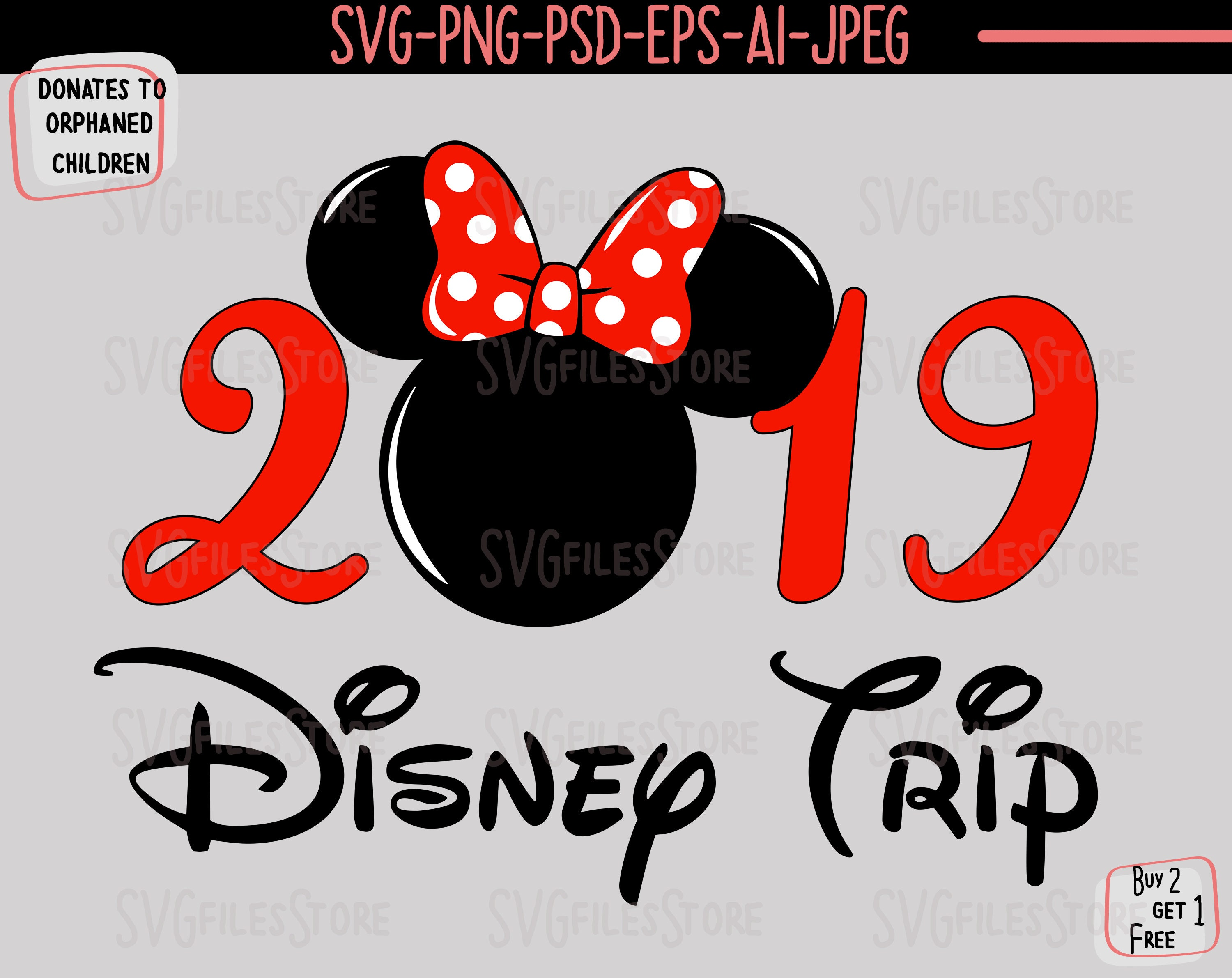Disney Trip Svg Disney Vacation Svg Disney Svg And Png File Etsy