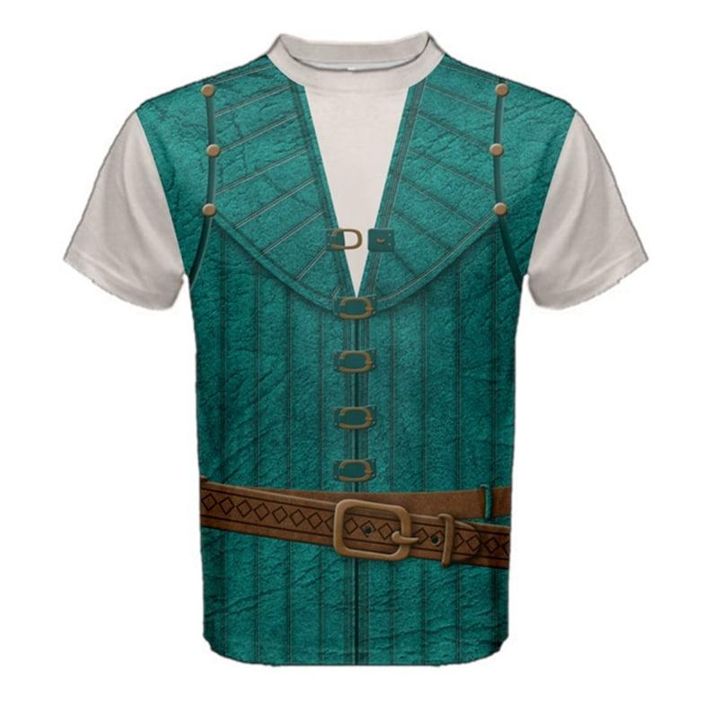 Enchanted Tangled Prince Flynn Rider Vest jacket uniform cosplay costume