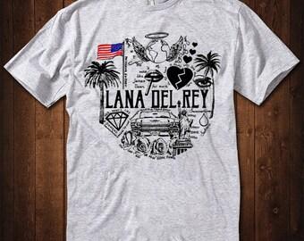 8cd9d4acb Lana Del Rey Graphic T-Shirt, Men's Women's All Sizes Tee