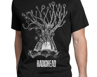 e901637c Radiohead Tree Original Art T-Shirt, Men's Women's All Sizes Tee