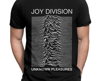 e9c0faf4 Joy Division Unknown Pleasures T-Shirt, Rock Band Shirt, Men's Women's All  Sizes Tee. StarryTesla. 5 out of ...