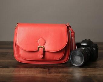 44deac31cd DSLR Leather Camera Bag