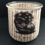 The Boy Who Lived votive candle holded