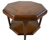 Mid Century Modern Adrian Pearsall for Lane Hexagonal Side Table