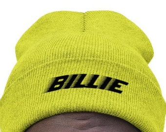 87b5972d7bf0b Billie Eilish Knit Beanie Embroidared - Billie Eilish Hats   Caps - Billie  Eilish Winter Hat - Eilish Cuffed Beanie Bonnet Czapka Gorro Mtze