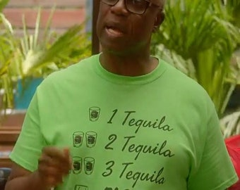 a2a3b970 Brooklyn nine nine Captain Holt Tee - One Tequila Two Tequila Three Tequila  Floor T-Shirt - Brooklyn 99 TV Show TShirt - B99 Shirt