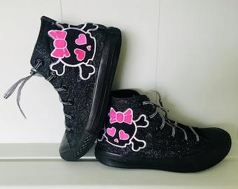 2e860ffe4a7b Glitter Punk Converse