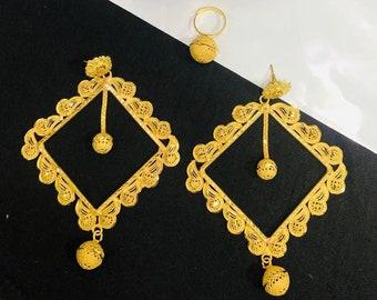 Latest Elegant /& Trendy Unique Designer Necklace Set African Jewelry For Women