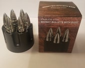 Stainless Steel Bullet Ice Cubes