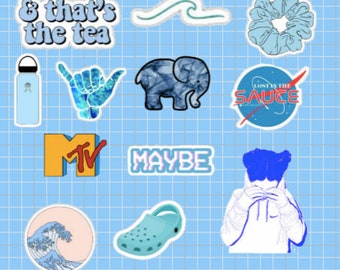 Aesthetic Stickers Etsy