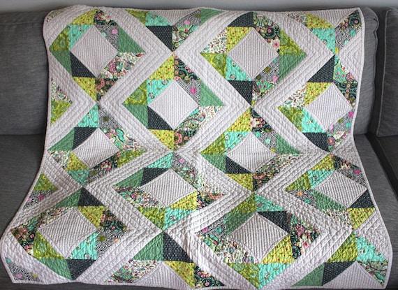 """Resultado de imagem para fresh diamonds quilt pattern"""""""