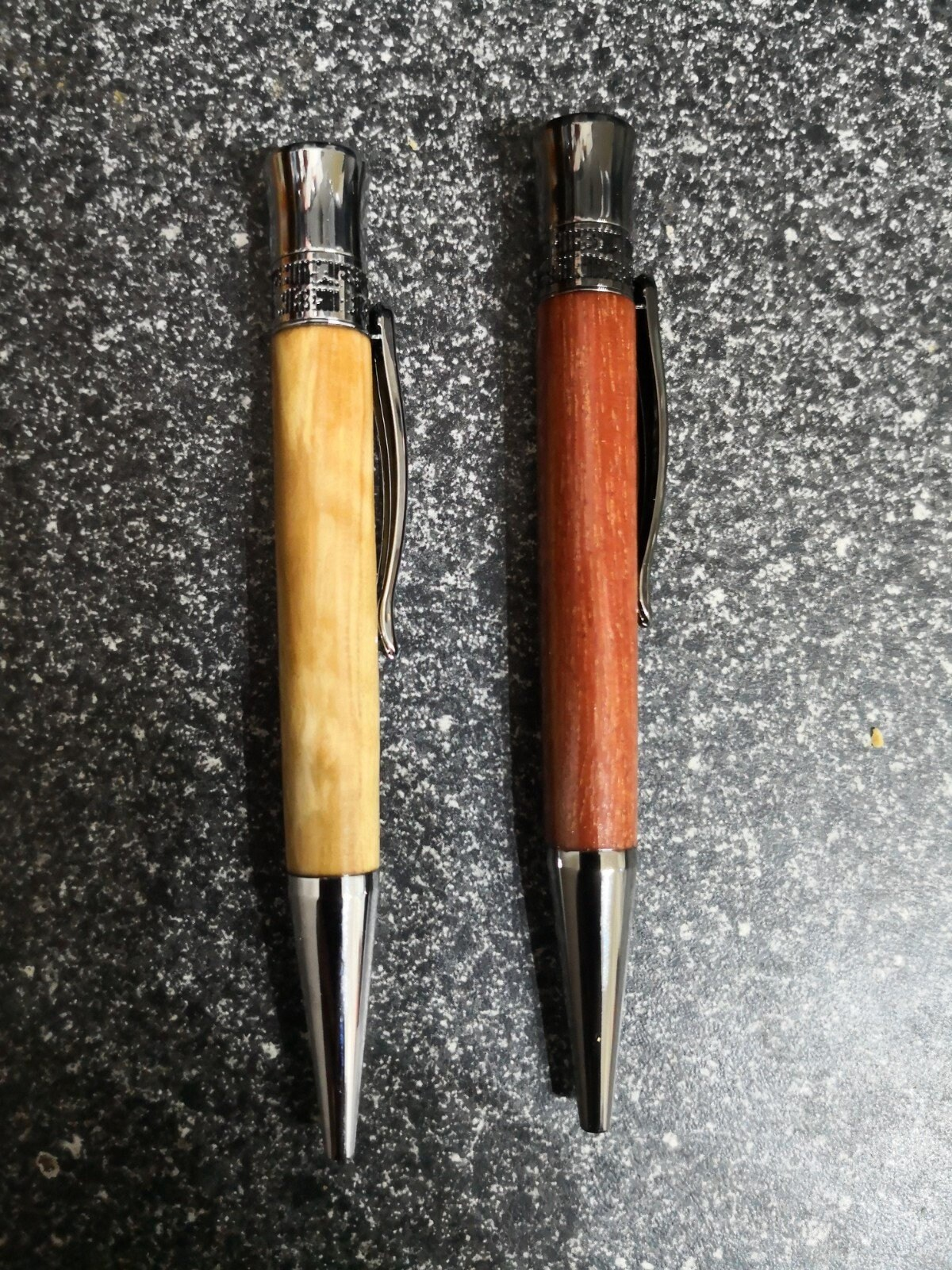 Solid Wood Genuine Maple Ballpoint Pen Lot of 5 Great Gift