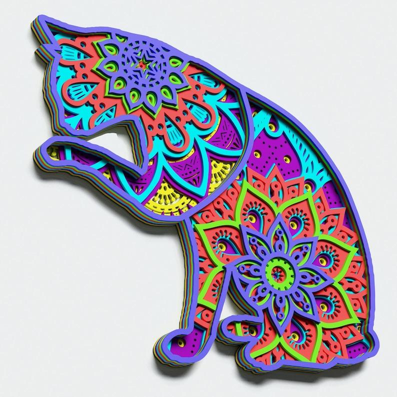 117+ Layered Cat Mandala Svg Free – SVG Bundles