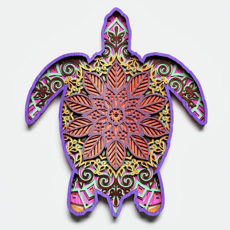 126+ Mandala Sea Turtle Svg – SVG,PNG,DXF,EPS include
