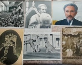High-Definition Poster 30x40 cm with Rare Pics of His Majesty Haile Selassie I Jah RastafarI
