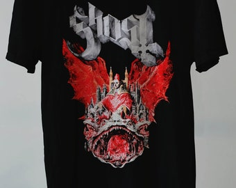 64523dbbe10 Ghost Band T-Shirt Prequelle Vintage Unisex Adult Clothing