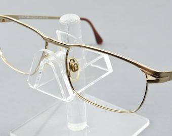 b20651f210fe NOS Vintage Vogue Florence Matte Gold Oval Eyeglasses VO3128-S ORO 52 16