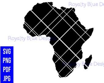 AFRICA, Continent, png, pdf, svg, digital download, instant