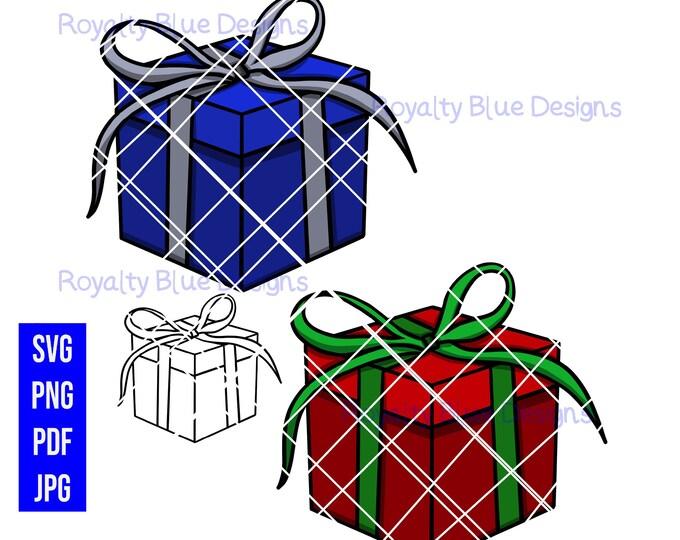CHRISTMAS GIFTS, svg, png, pdf, jpg, digital download, printable