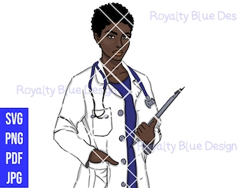 Hey DOCTOR MVP! png, pdf, svg, Doctors, md, Dr, stethoscope, educated professional black woman, Pretty Practitioner RN, african best digital