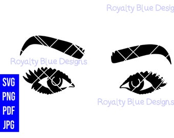 BOLD EYES Ring, svg, png, pdf, jpg, digital download, instant