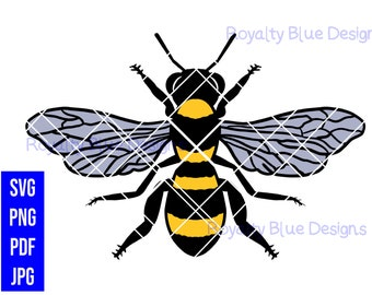 WORKER BEE, png, svg, pdf, digital download, instant