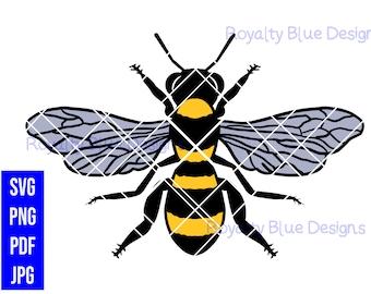 WORKER BEE, png, svg, pdf, digital download, instant