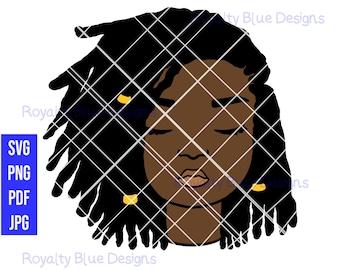 MYLA Locs, cute kid, svg, png, pdf, jpg, digital download, instant