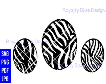 ZEBRA PRINT EGG, svg, png, pdf,digital download, instant