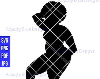 STRUCK, silhouettes, svg, png, pdf, jpg, digital download, instant