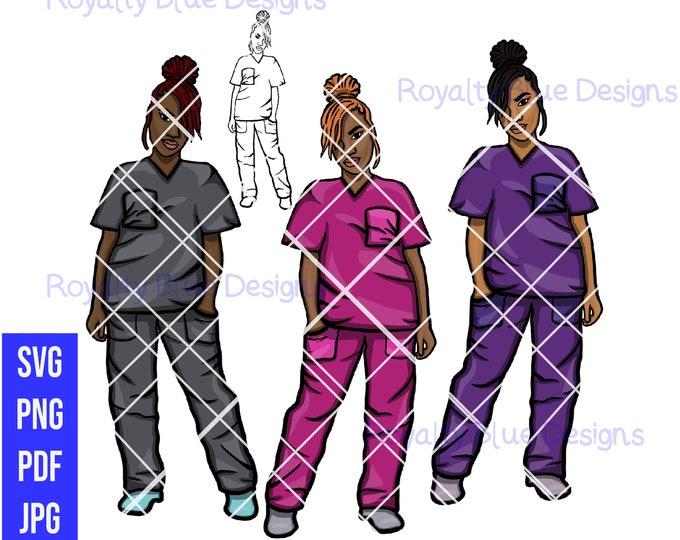 LOCCED UP Nurse Bundle, digital downloads, instant