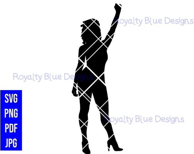 POWER LOCS, silhouettes, digital download