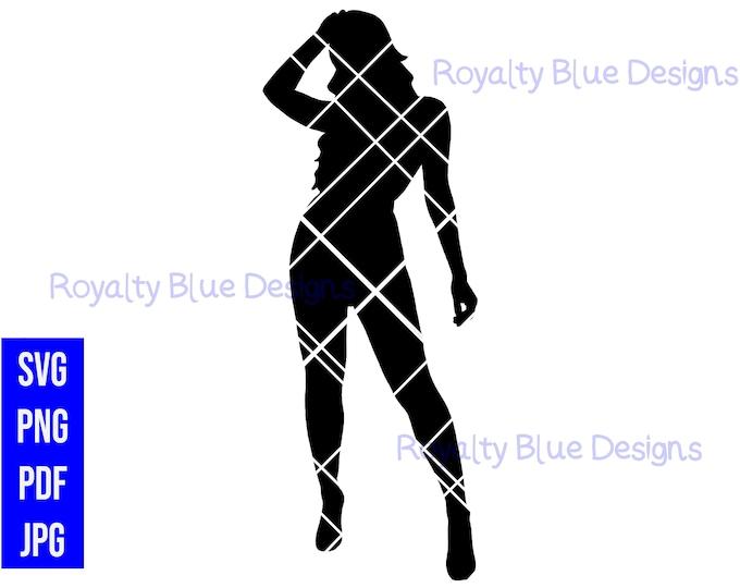 RAVEN, silhouette, digital download