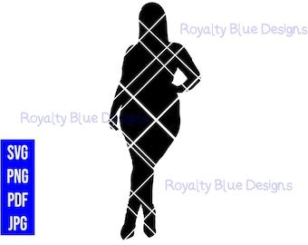 CHAR, silhouette, digital download