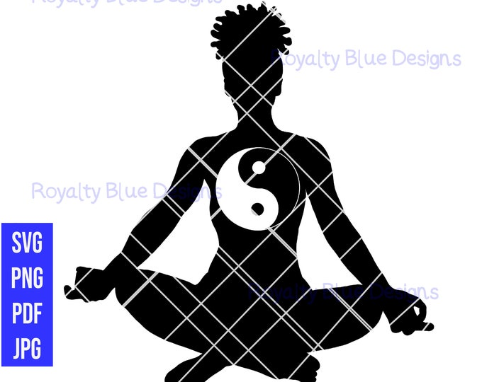 META YIN YANG, svg png pdf, jpg, digital download, instant