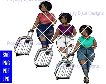 MISS T Curly Hair Bundle,svg, png, pdf, jpg, digital download, instant