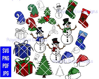 THE BIG CHRISTMAS 16 Bundle, svg, png, pdf, jpg, digital download