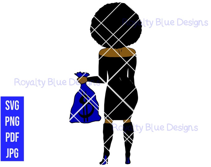 SECURED, AFRO, svg, png, pdf, digital download, instant