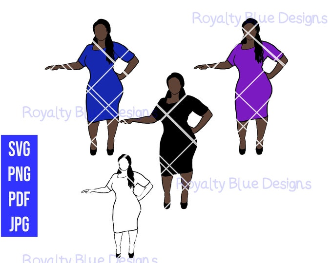 CURVY CARLA, svg, png, pdf, digital download